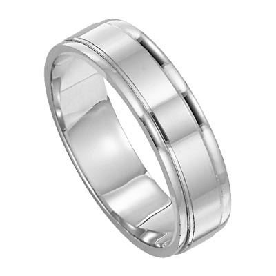 lieberfarb wedding rings and engagement rings - Mens Platinum Wedding Ring